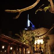 Burj Al Arab views from Madinat